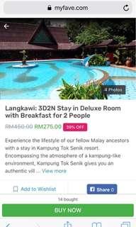 Langkawi Kampung Tok Senik Resort 3 days 2 nights