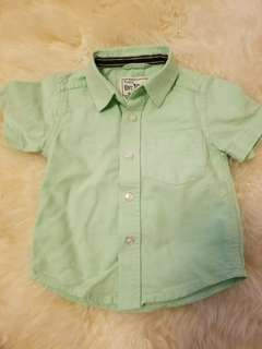 Cotton summer shirt size 6-9mths. New. No tags. Porch pickup Beaches