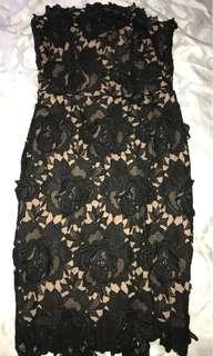 Nordstrom Lace Midi Dress