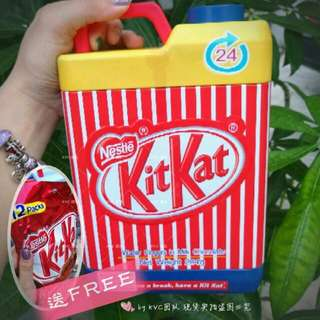 <Limited Edition> Water Fingers Kit Kat
