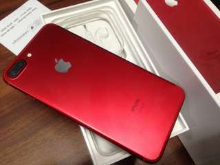 Iphone 7 plus 128gb Myset (Red spacial Edition)