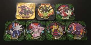 [Scannable Soon!!!] Pokemon Tretta U1 Super Powerful Set