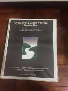 Social Anxiety therapy tapes for shyness disorder Thomas Richards