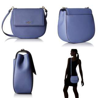 Authentic Kate Spade Oyster Blue Cameron Street Byrdie