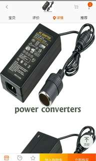 Car appliance convertor