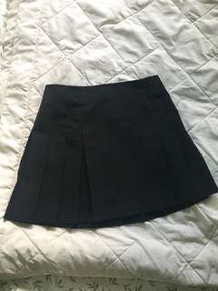 Vintage Garage Pleated Skirt