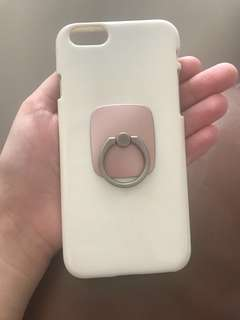 iPhone 6/6S case + Ring