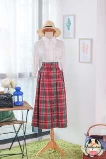 🍿 Vintage Midi Skirt VS1422