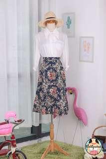 🍿 Vintage Midi Skirt VS1427