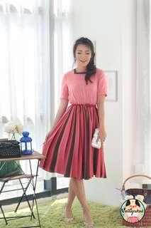 🍿 Vintage Midi Dress VD1315