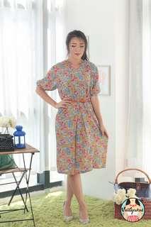 🍿 Vintage Midi Dress VD1318