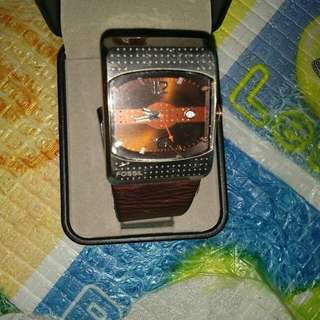 Original Fossil watch quartz preloved from US