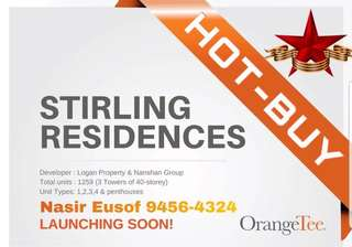 STIRLING RESIDENCES (New Launch)