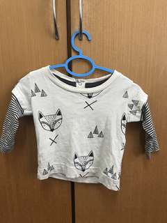 Cotton On Baby Boy Long Sleeve Shirt