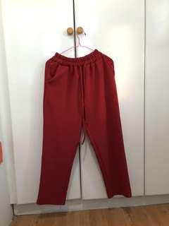 Maroon pants