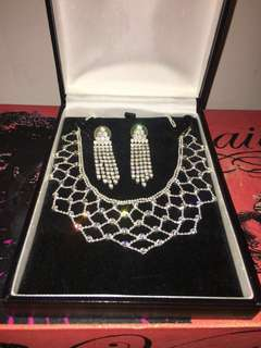 Prom / Bridal Gorgeous Diamond Set