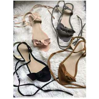 Made to order Lace Up Sandal