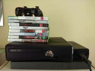 Xbox 360 s 250gb (EXCLUSIVE GAMES)
