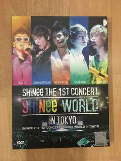 [Pre-Loved] SHINEE The 1st Concert in Tokyo DVD
