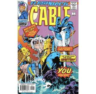 CABLE #-1 (1997) Flashback!