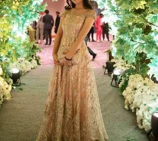 Dress Prom Rosegold
