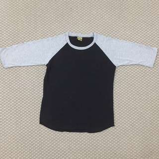 3 Quarter Raglan Shirt