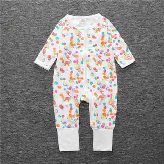 Baby Kids Boys Girls Candy Dots Sleepsuit (Newborn - 2years)