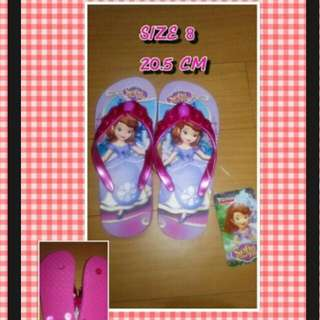 Girl Slippers SOFIA THE FIRST 20.5 CM Size 8