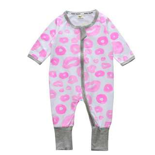 Baby Kids Boys Girls Pink Bubbles Sleepsuit (Newborn - 2years)
