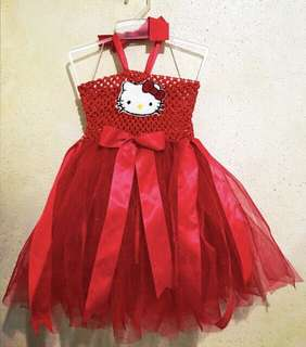 Red Hello Kitty Tutu Dress