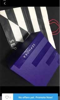 Sephora magnetic hard case gift box