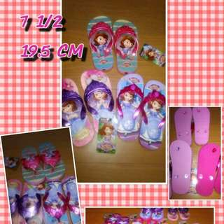 GirL Slippers SOFIA THE FIRST 19.5 CM SIZE 7 1/2