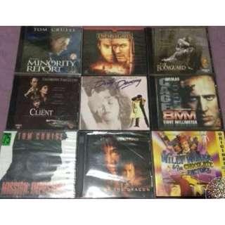 Assorted original VCDs