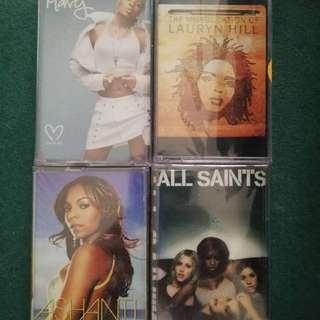 Mary G Blige, Ashanti, Lauryn Hill, All Saints