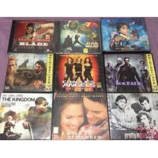 Assorted original VCDs