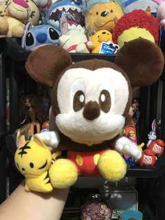 Mickey with toy