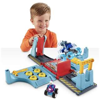 (In-Stock) Fisher-Price Nickelodeon Blaze & the Monster Machines, Tune Up Tires Playset (Brand New)