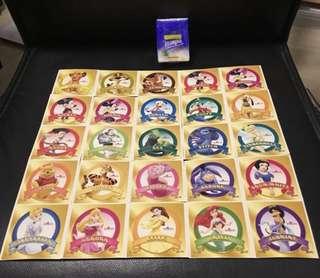 香港迪士尼樂園 貼紙25張