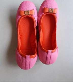 🚚 Tory Burch 娃娃鞋 23公分