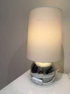 Pair of IKEA bedside table lamps