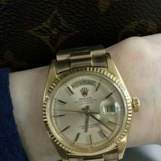 Vintage Rolex President Day and Date