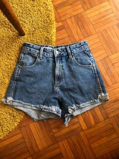 Wrangler drew size 6 denim shorts