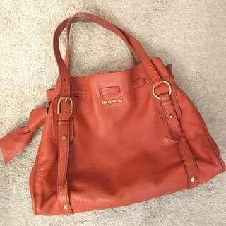 Miu Miu shoulder hand bag tote