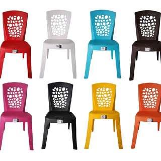 M178C高背圓洞塑膠椅