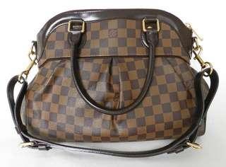 2dbaeceedb1d Louis Vuitton LV Trevi PM Damier Ebene