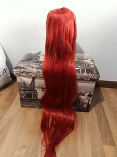 URGENT CLEARANCE Brand New Red 100cm Cosplay Wig