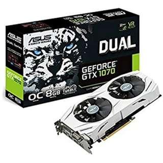 GTX 1070 ASUS DUAL 8GB