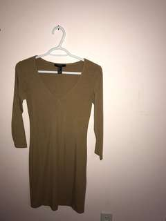 FOREVER 21 BODYCON DRESS (PRICE REDUCED)