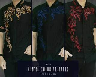 Batik pria modern zaman now