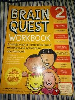 BrainQuest workbook preowned
